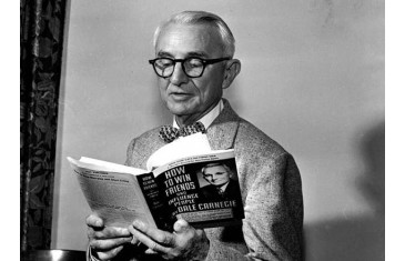 Dale Carnegie. Author of the bestseller №1.