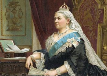 Яку зі своїх книг Керолл присвятив королеві ?