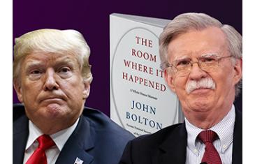 У продаж надійде книга колишнього радника президента США з питань нацбезпеки Джона Болтона