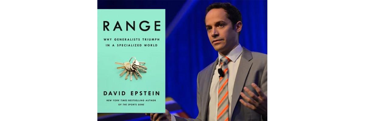 «Range»: заспокійлива книга про те, як бути успішним у шаленому світі.