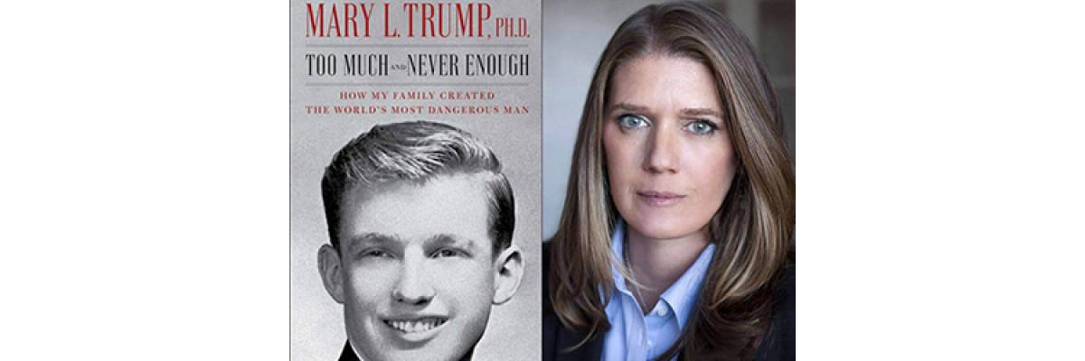 Книга племінниці Трампа побила рекорд, встановлений мемуарами Джона Болтона.