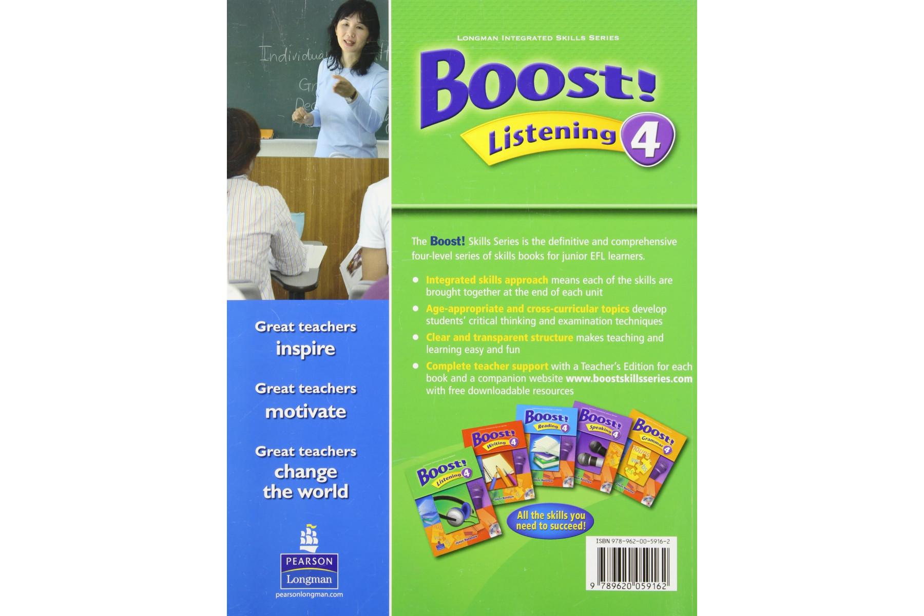 Boost! Listening 4 Teachers Edition