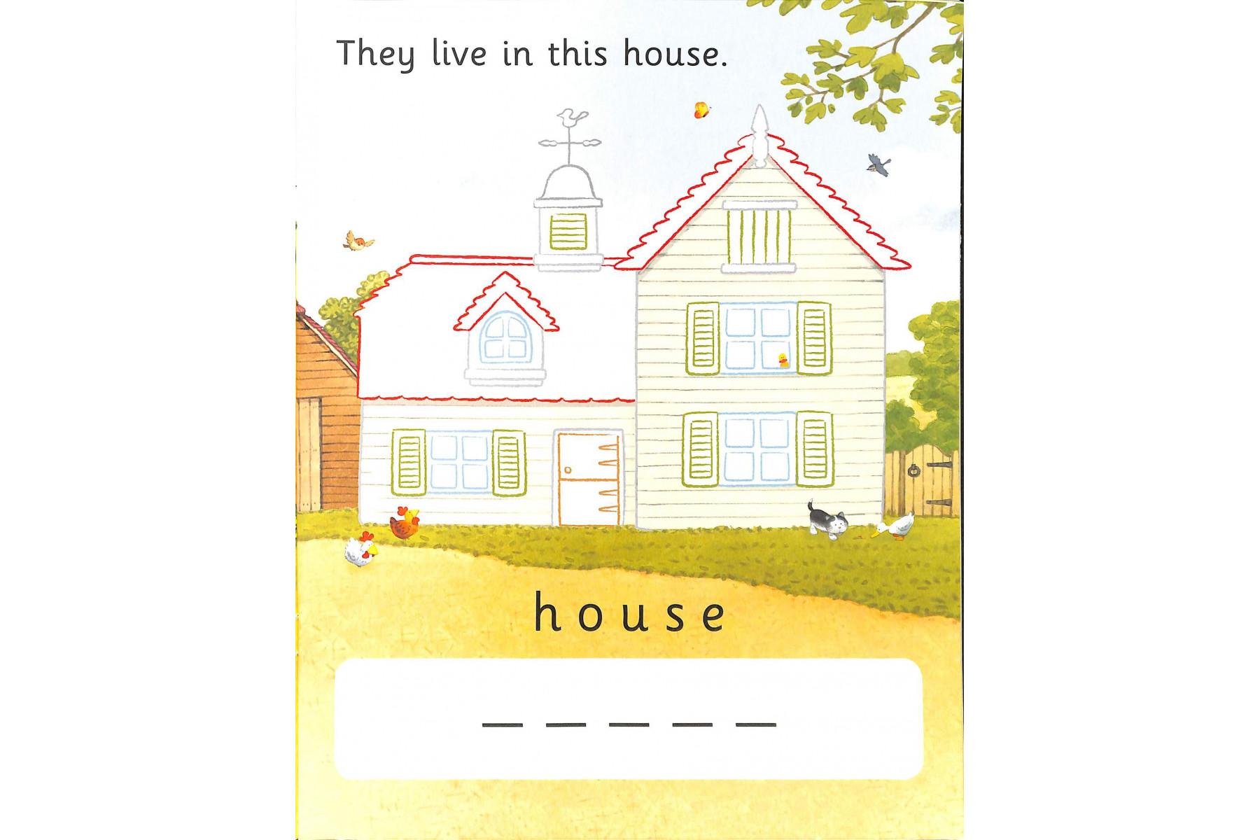 Farmyard Tales Colouring Book