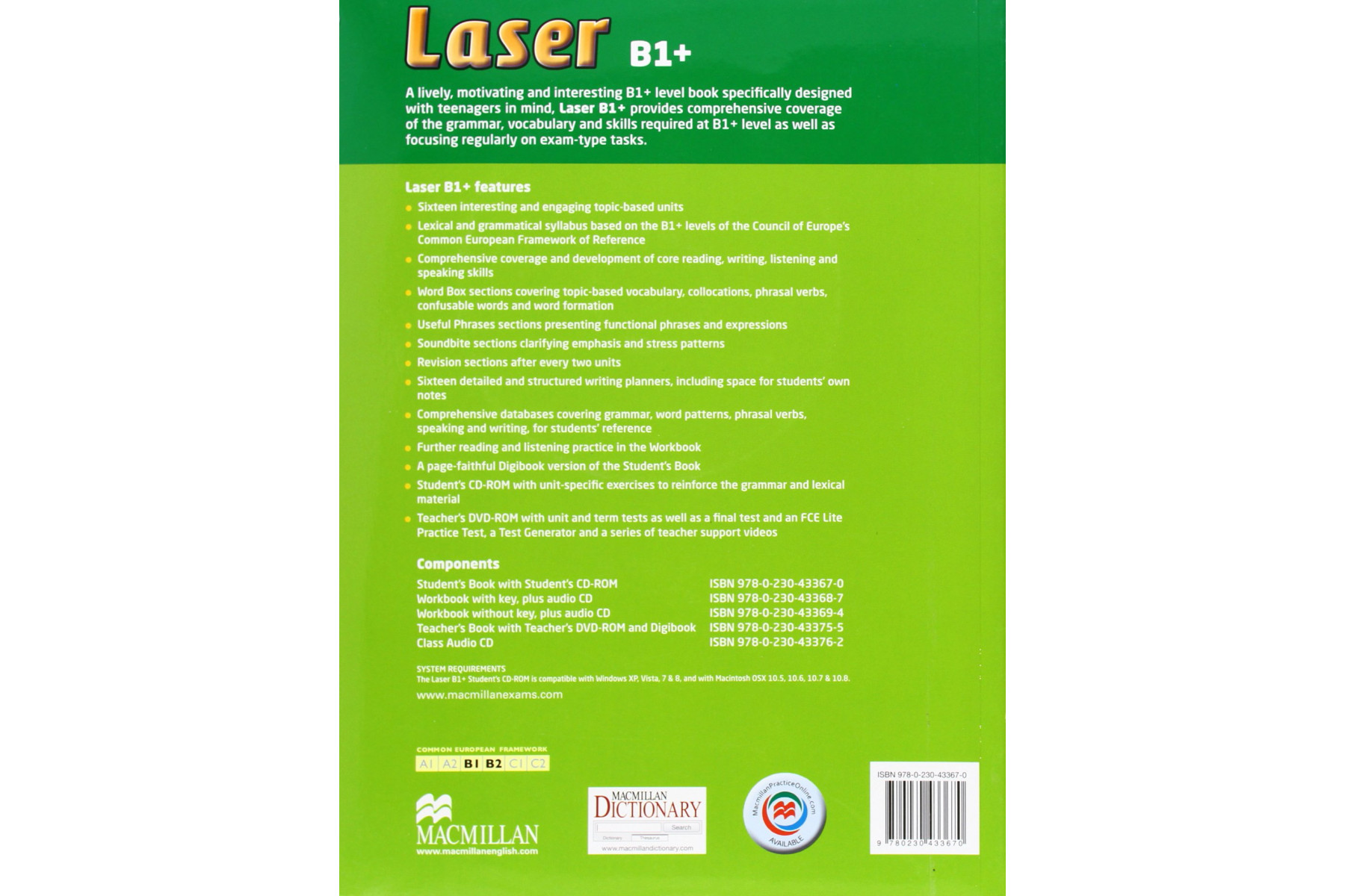 Laser 3rd Edition B1 Plus SB + CD-ROM