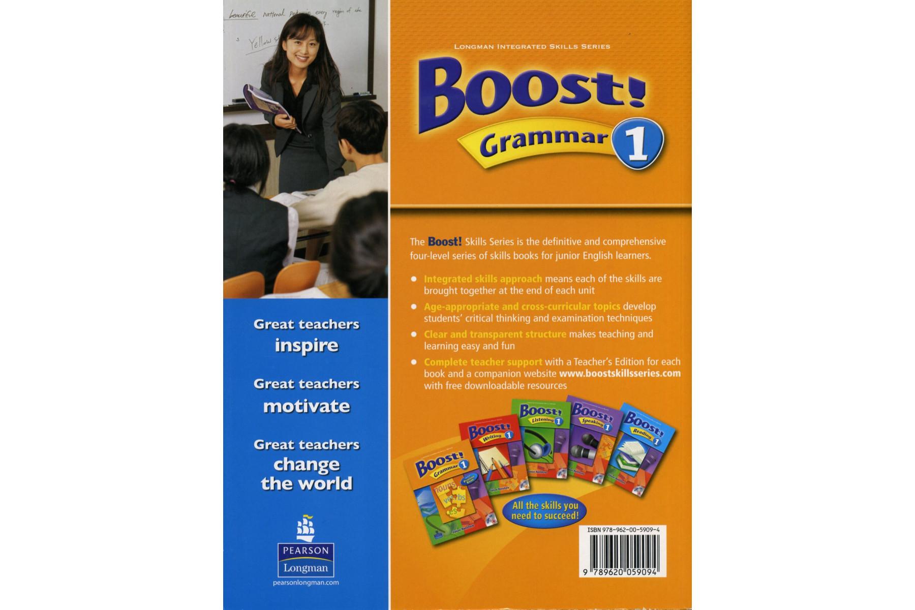 Boost! Grammar: Teacher's Book Level 2