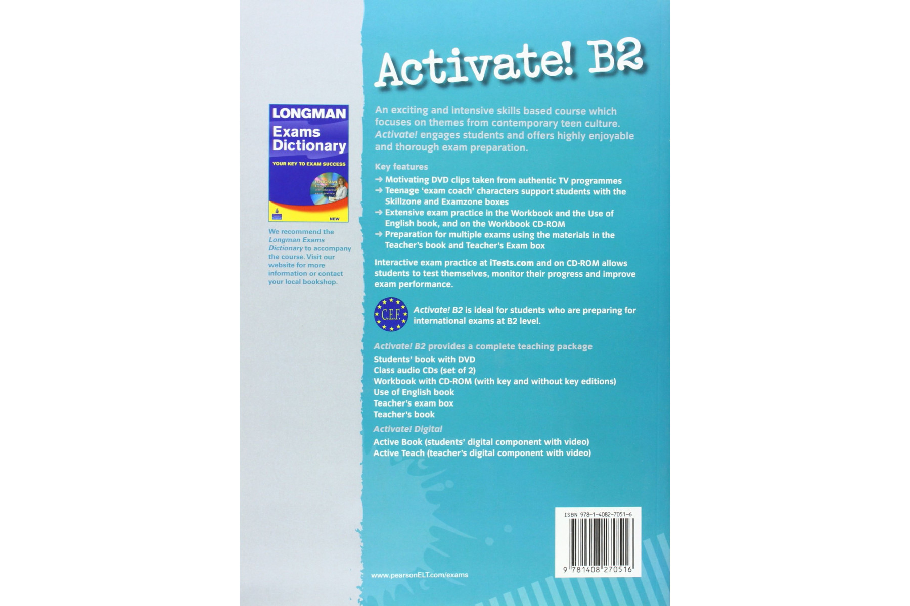 Activate! B2: Workbook with Key/CD-ROM Pack