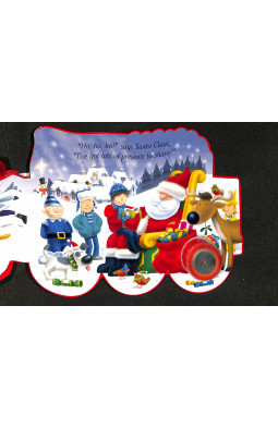 Santa Express (Shaped Board Books)