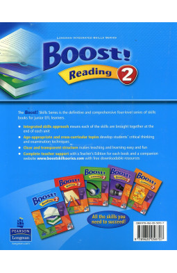 Boost! Reading: Student Book Level 2