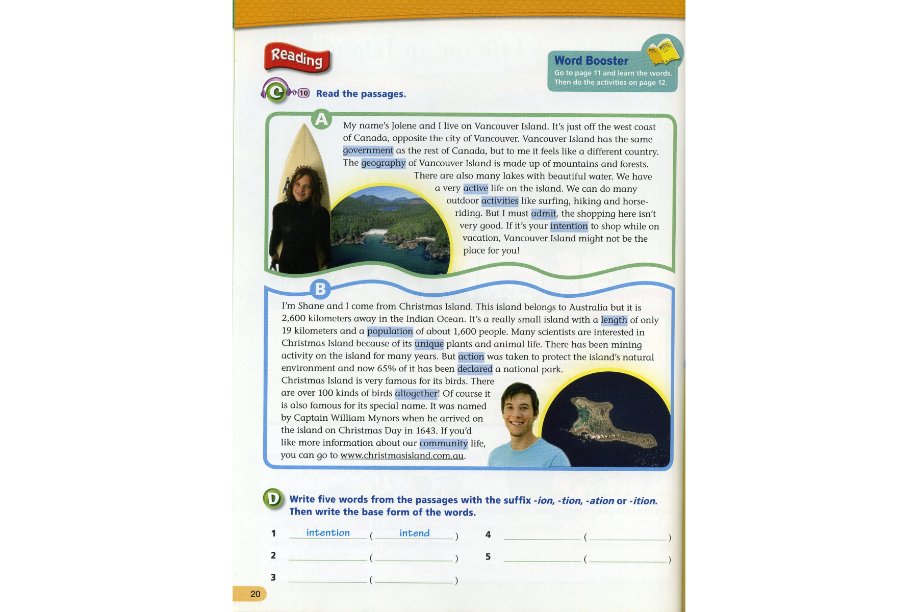 Boost! Vocabulary 3 with Audio CD