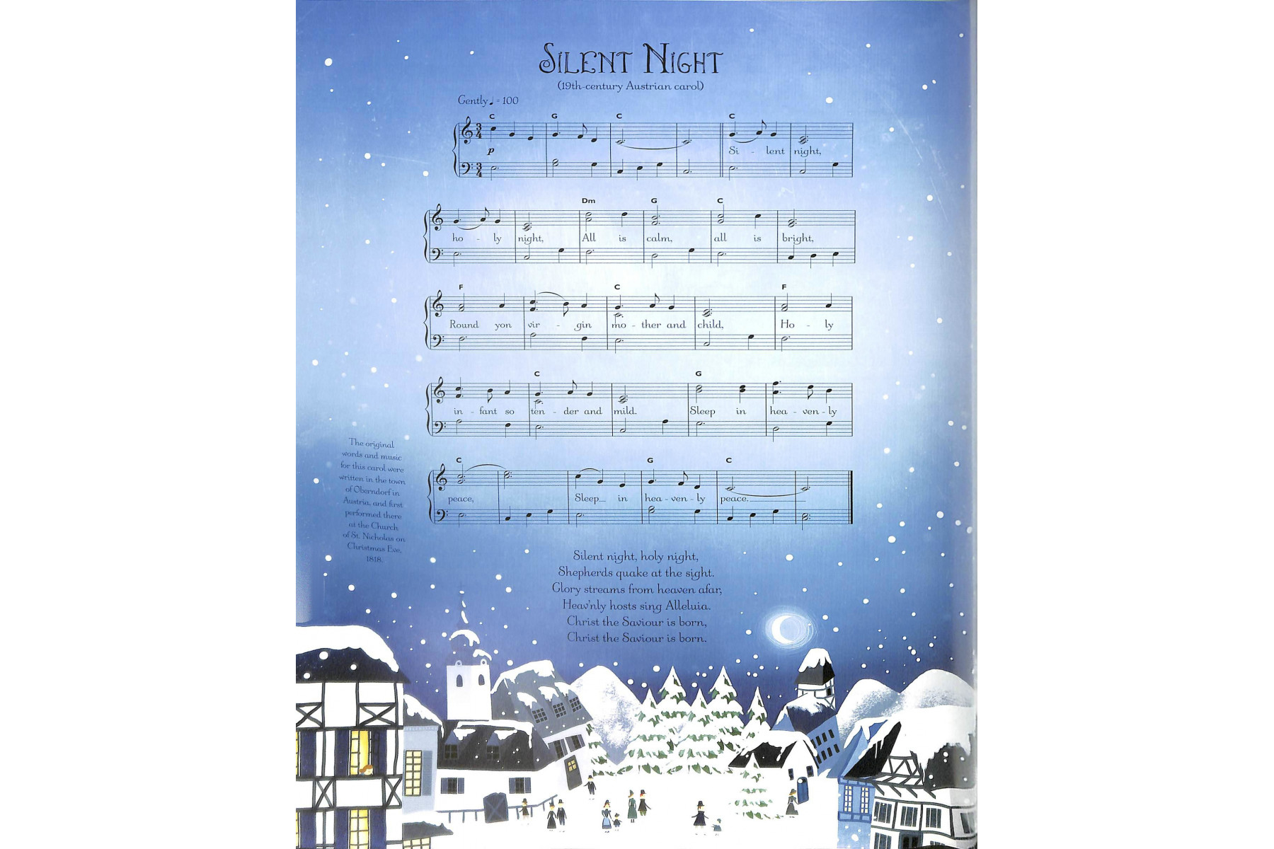 Christmas Carols Sticker Book