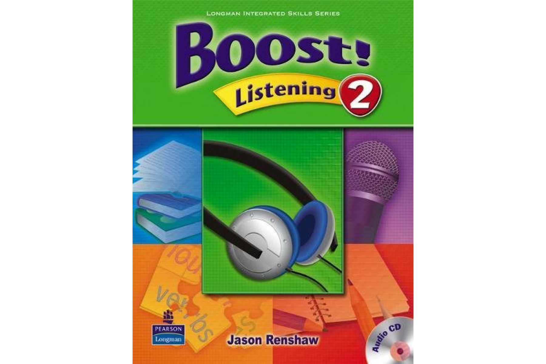 Boost! Listening 2 Student Book with Audio CD