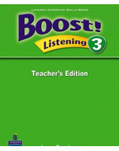 Boost! Listening 3 Teachers Edition