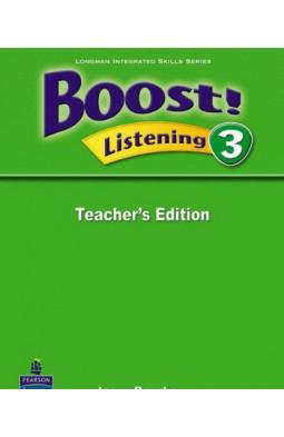 Boost! Listening 3 Teachers Edition