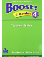 Boost! Listening 4 Teachers Edition