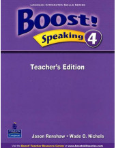 Boost! Speaking: Teacher's Book Level 4