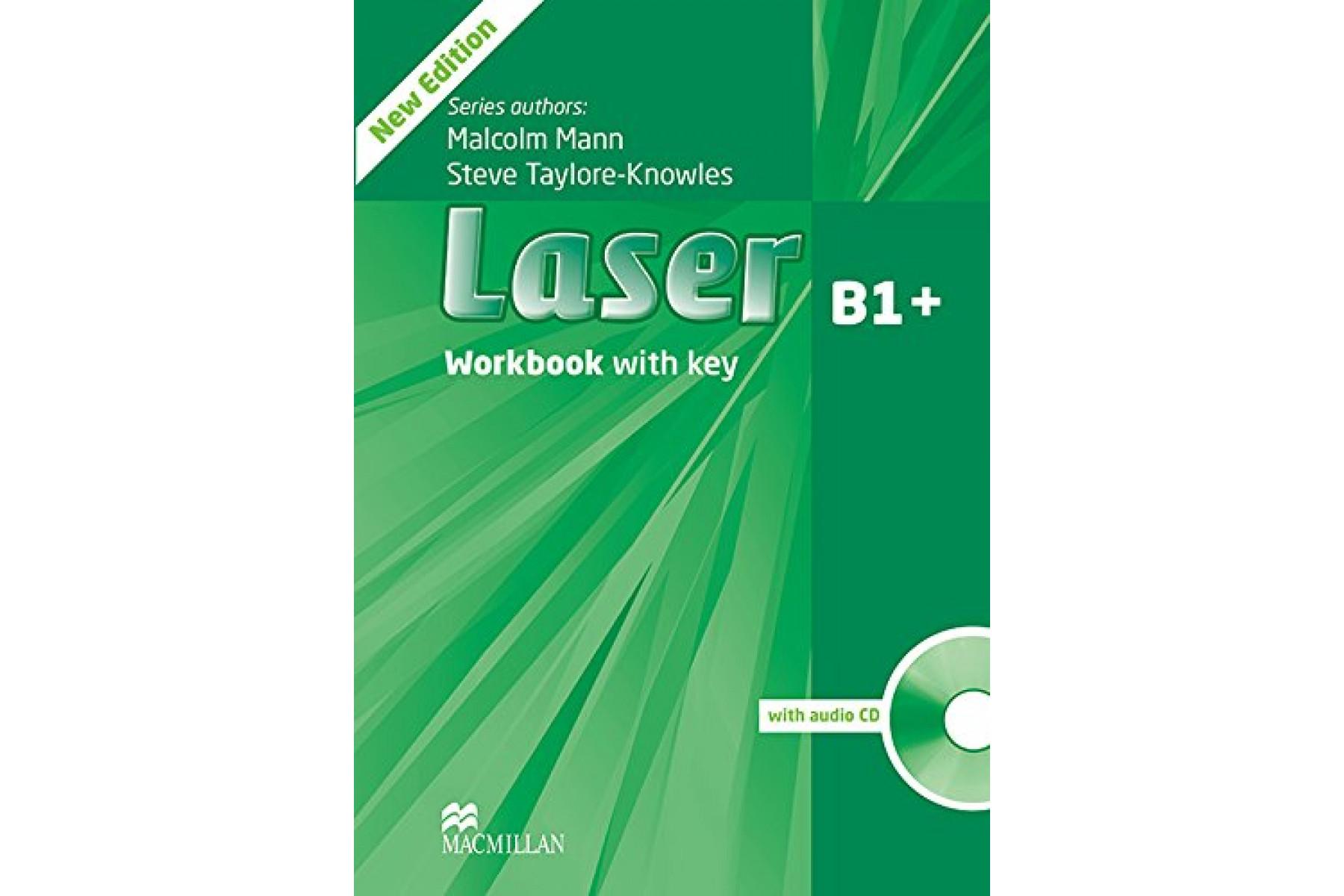 Laser 3rd Edition B1 Plus WB + Key + CD