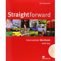 Straightforward Intermediate: Workbook with Key Pack