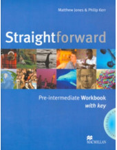 Straightforward Pre-intermediate Workbook with Key