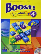 Boost! Vocabulary 4 with Audio CD