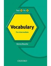 Test It, Fix It Pre-Int: English Vocabulary