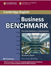 Business Benchmark Pre-Intermediate to Intermediate SB
