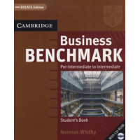 Business Benchmark Pre-Intermediate to Intermediate Student's Book with CD
