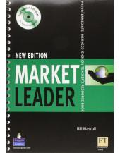 Market Leader Pre-Intermediate Teachers Book and Test Master CD-Rom Pack NE