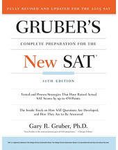Gruber's Complete Preparation for the New SAT