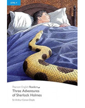 PR 4: Three Adventures of Sherlock Holmes Book and MP3 Pack