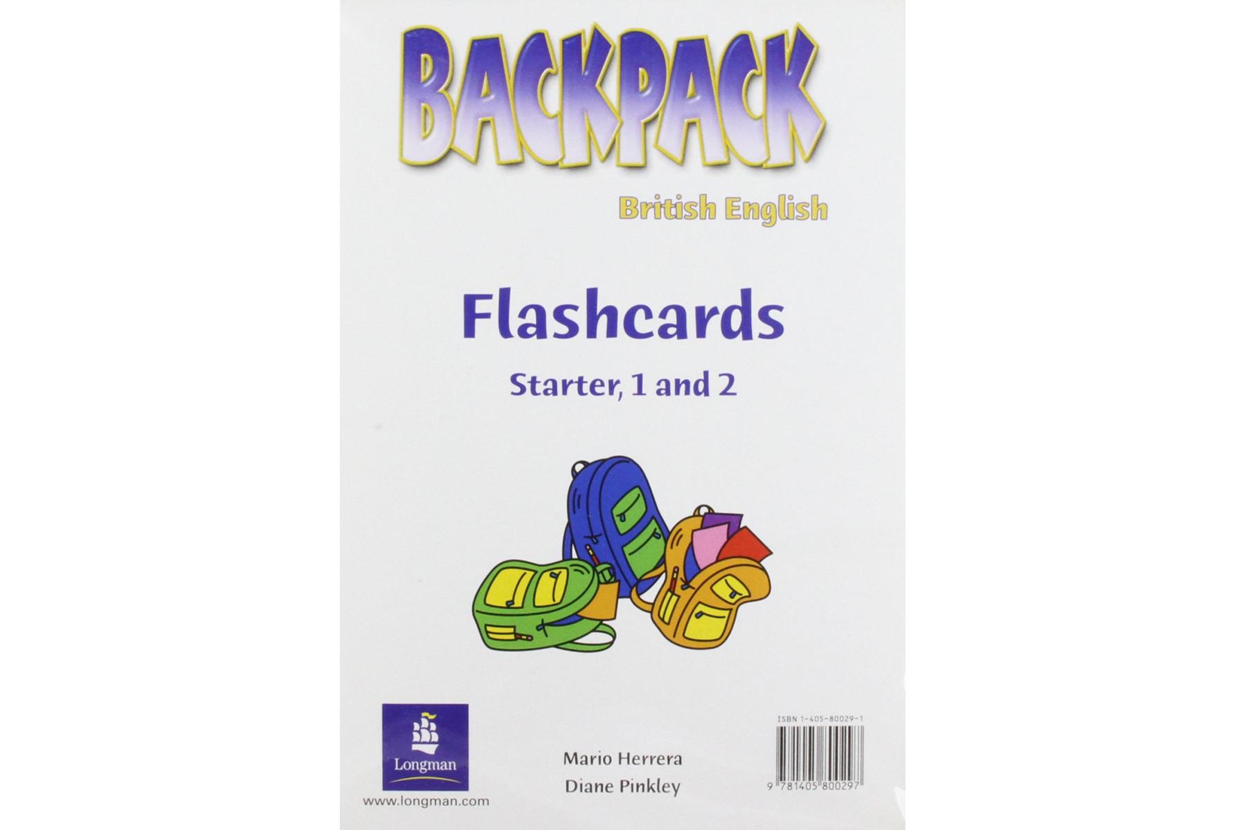 Backpack Level Starter - 2: Flashcards
