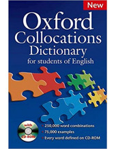 Oxford Collocations Dictionary +CD