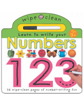 Wipe Clean - Numbers