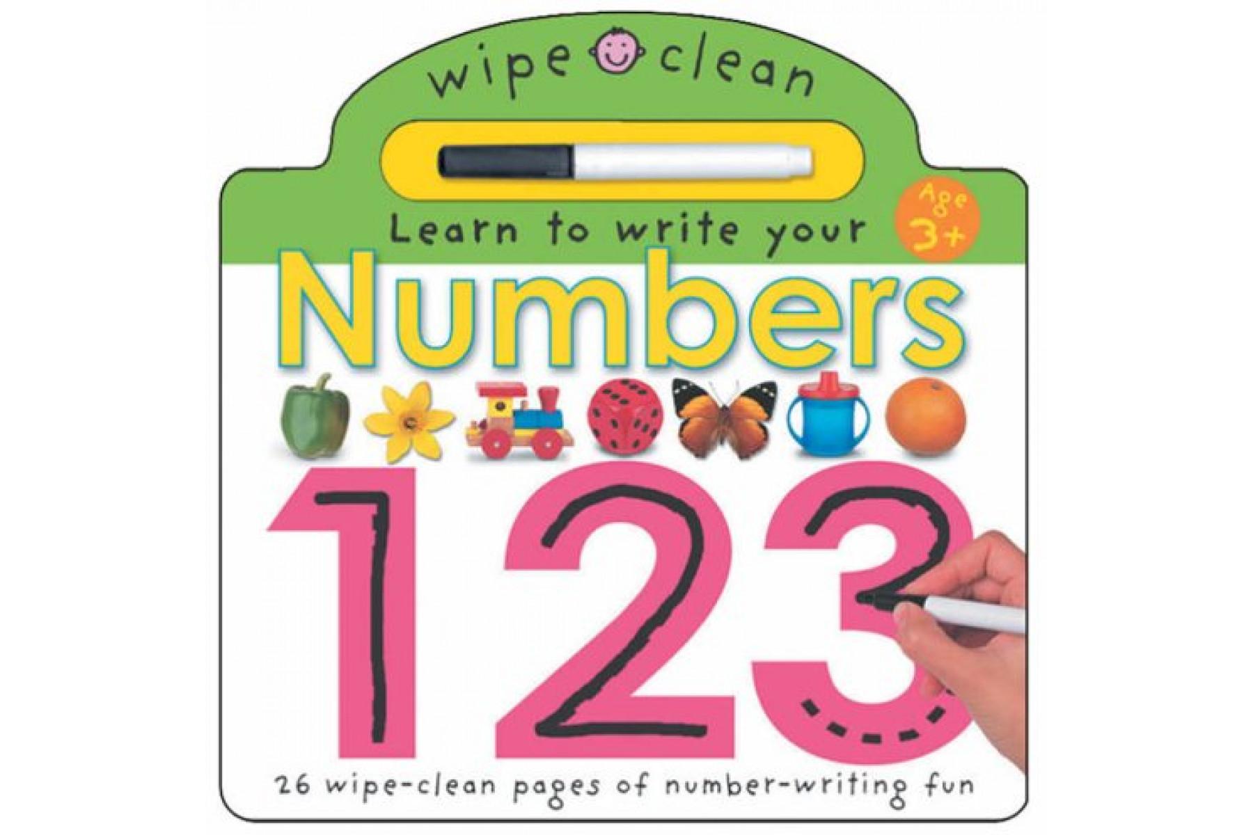 Wipe Clean - Numbers