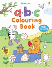ABC Colouring Sticker Book