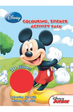 Disney Junior Colouring and Activity Sticker Pack