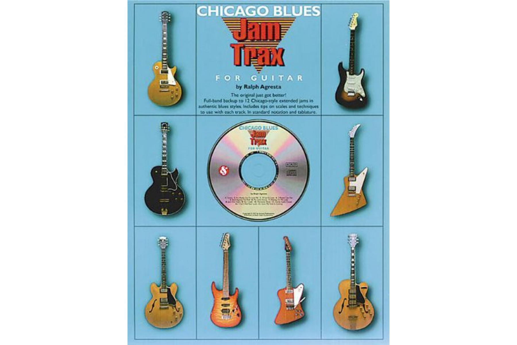 Jam Trax: Chicago Blues [With CD]