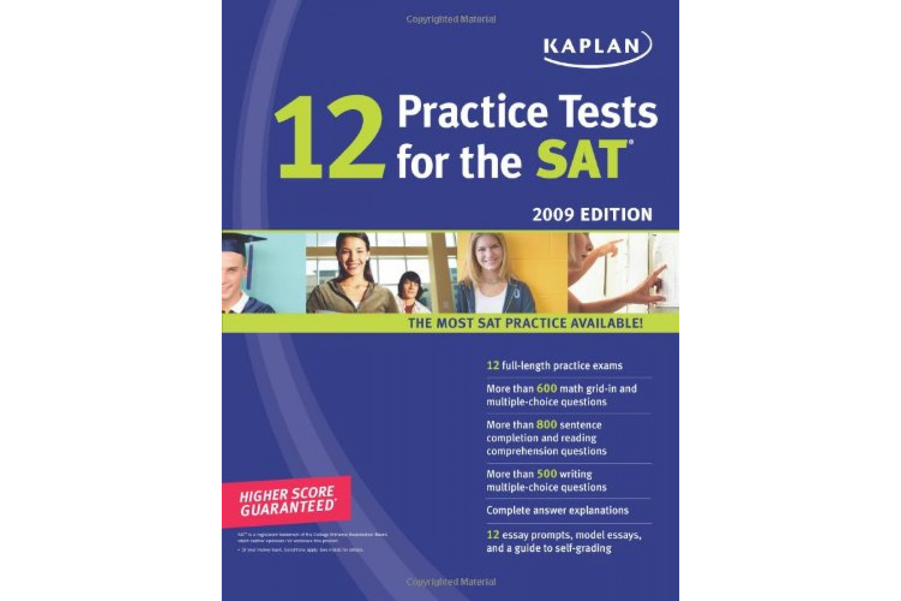 Kaplan 12 Practice Tests for the SAT 2009