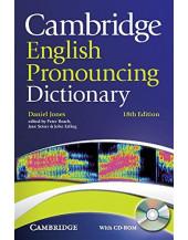 English Pronouncing Dictionary + CD-ROM 18th Edition