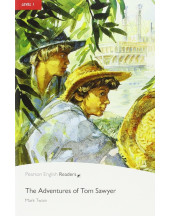 PR 1: Adventures of Tom Sawyer Readers  with Audio CD Pack
