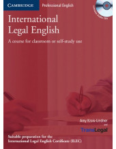 International Legal English - Student's Book with Audio CDs (ILEC)