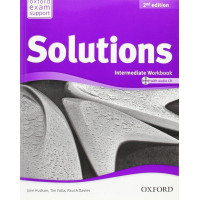Solutions 2nd Edition Intermediate: Workbook & Audio CD Pack Ukrainian Ed.