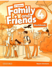 Family and Friends 2nd Edition 4: Workbook