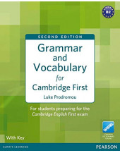 Grammar and Vocabulary for FCE 2nd Edition with key + access to Longman Dictionaries Online