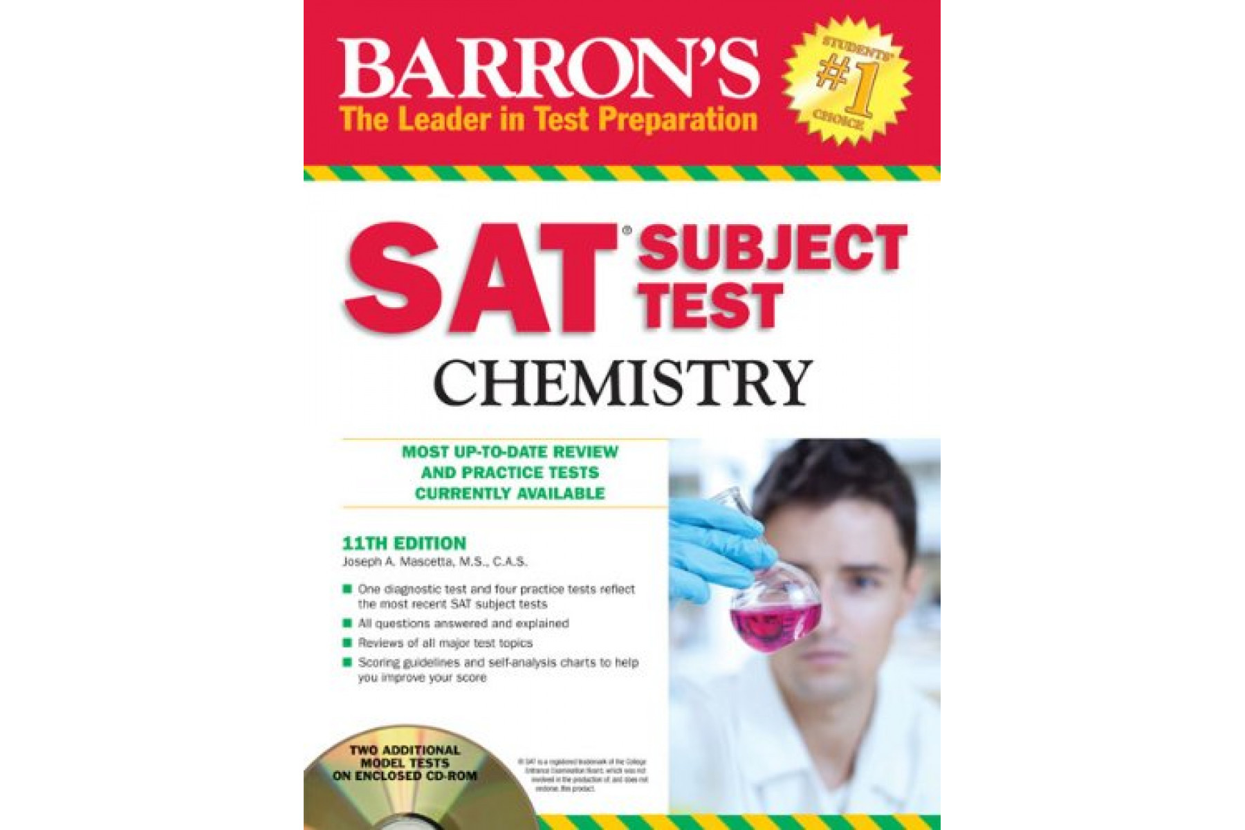 SAT Subject Test Chemistry (Barron's SAT Subject Test Chemistry (W/CD))