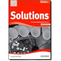 Solutions 2nd Edition Pre-Intermediate: Workbook & Audio CD Pack Ukrainian Ed.