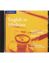English in Medicine Audio CD: A Course in Communication Skills