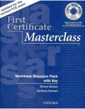 First Certificate Masterclass New Edition: Workbook and Audio CD Pack (with Key)