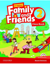 Family and Friends 2nd Edition 2: Class Book with MultiROM