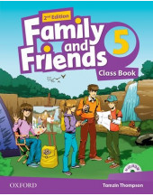 Family and Friends 2nd Edition 5 Class Book and MultiROM Pack