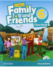 Family and Friends 2nd Edition 6 Class Book and MultiROM Pack
